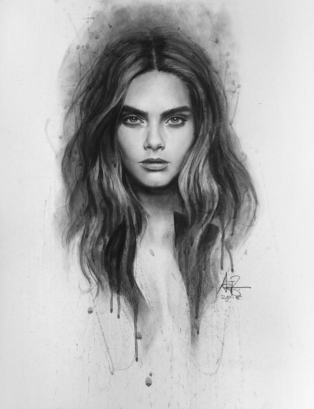 cara_delevingne_by_artgerm-d93jb17