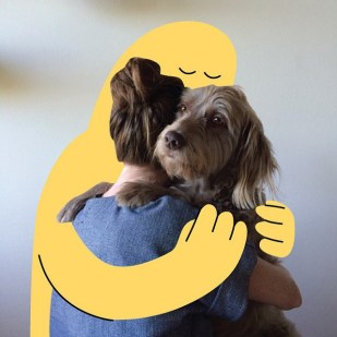 christopher-david-ryan-sunday-styles-dog-hug