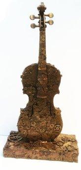 clockwork_violin_sculpture_by_richardsymonsart-d7nbs9a