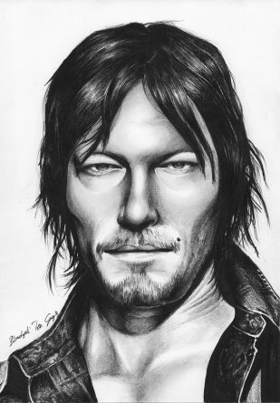daryl_dixon_from_the_walking_dead_by_blondynkitezgraja-d95hnyt