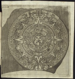 first-reproduction-of-sun-stone-aztec-by-francisco-de-agc3bcera-in-descripcic3b3n-histc3b3rica-y-cronolc3b3gica-de-las-dos-piedras-by-antonio-de-lec3b3n-y-gama-1792