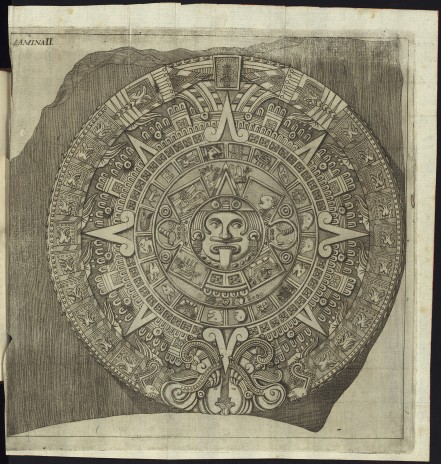 first-reproduction-of-sun-stone-aztec-by-francisco-de-agc3bcera-in-descripcic3b3n-histc3b3rica-y-cronolc3b3gica-de-las-dos-piedras-by-antonio-de-lec3b3n-y-gama-1792