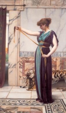 godward_-_a_pompeian_lady_1891