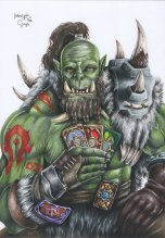 hearthstone___orc_and_cards_by_blondynkitezgraja-d9j3egk
