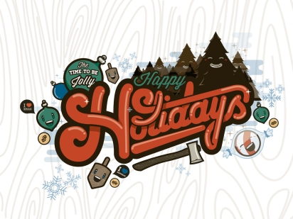 Holiday Card Concept by Nick Slater