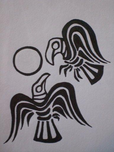 huginn_and_muninn_my_tattoo_by_zoharglait-d3w7bfd