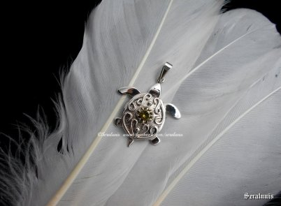 little_turtle___handmade_sterling_silver_pendant_by_seralune-d9eh8hb