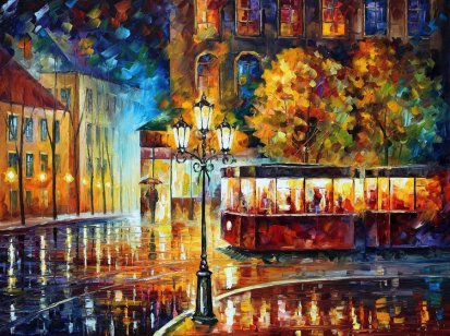 night_trolley_by_leonidafremov-d9jnv86