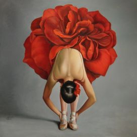 rose-woman-painting