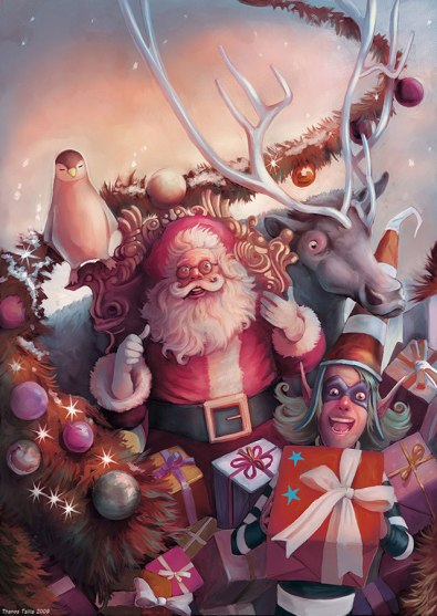 Merry Christmas by Thanos Tsilis