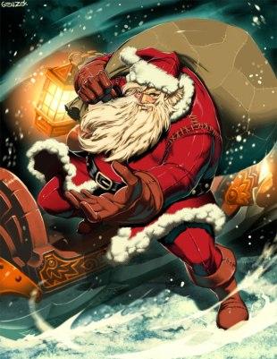 Santa Claus by Gonzalo Ordóñez Arias