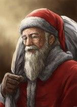 Old Santa Clause by Midori Harada