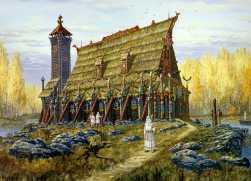 temple-hors-autumn-vsevolod-ivanov-slavic-painting-history-russian-folklore-lake-temple
