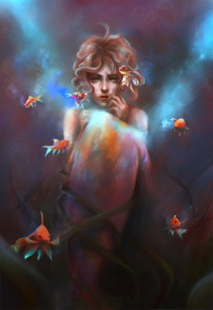 the_secret_pond_by_gabrielleragusi-d96h1zw