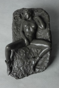 wall_nude_i_nude_relief_bronze_sculpture