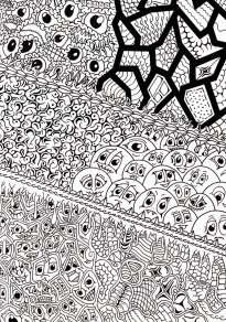 blackbook___smileys_vs__patterns__black_and_white__by_loggaa-d9mlbf1