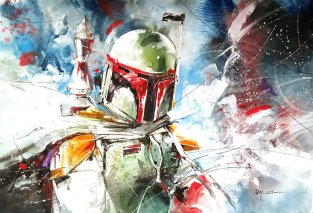 boba_fett___watercolour_by_abstractmusiq-d9dfyba