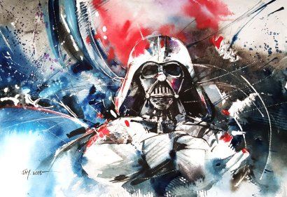 darth_vader___watercolour_by_abstractmusiq-d9ec7wv