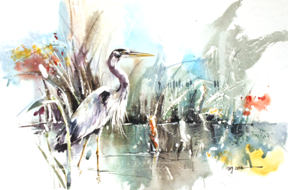 heron___watercolor_painting_by_abstractmusiq-d80gn5g