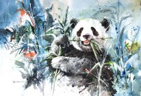 panda_bear_by_abstractmusiq-d7qnmtc