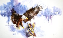 speed_painting___bald_eagle_by_abstractmusiq-d7fokbw