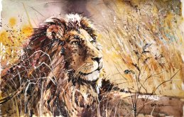 speed_painting___king_of_the_jungle_by_abstractmusiq-d7ctdmi