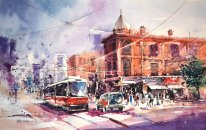 toronto___watercolor_painting_by_abstractmusiq-d81b42j