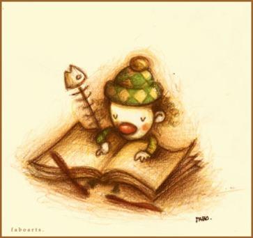 escribiendo_sus_memorias__by_faboarts